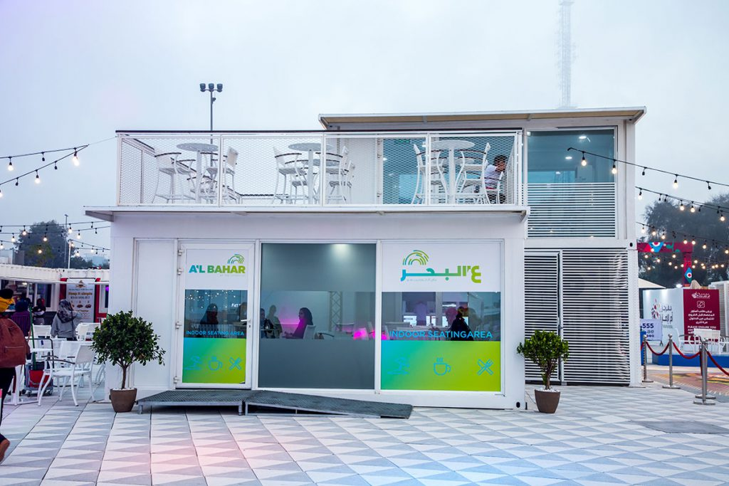 Retail Shipping Container Pop Up Shops in UAE
