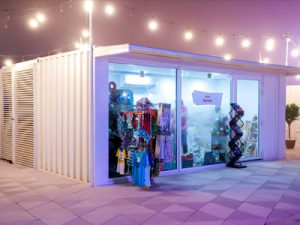 Shipping Container Conversions for Retail Storage
