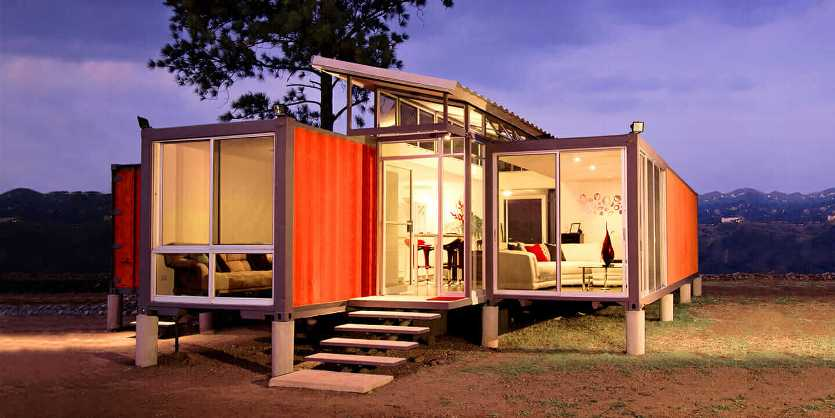 Container house in UAE